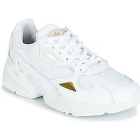 Boty Ženy Nízké tenisky adidas Originals FALCON W Bílá / Zlatá