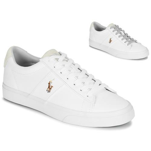 Boty Nízké tenisky Polo Ralph Lauren SAYER Bílá