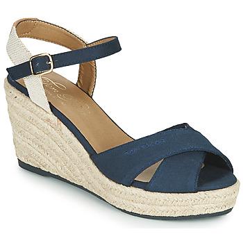 Boty Ženy Sandály Tom Tailor 6990101-NAVY Tmavě modrá