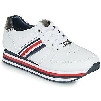 Boty Ženy Nízké tenisky Tom Tailor 6995501-WHITE Bílá