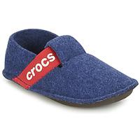 Boty Děti Papuče Crocs CLASSIC SLIPPER K Modrá