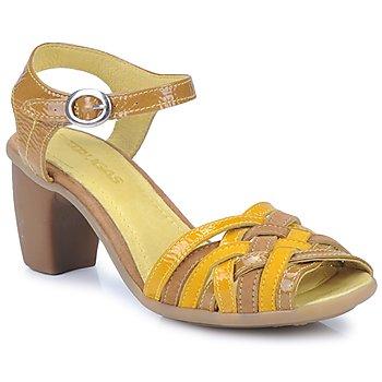 Boty Ženy Sandály Pataugas FANNY Žlutá