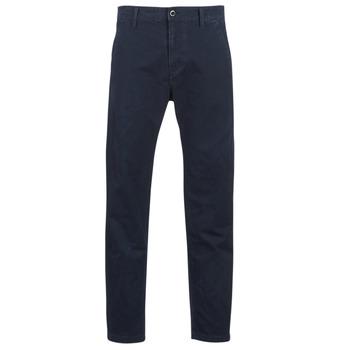 Textil Muži Mrkváče G-Star Raw BRONSON STRAIGHT TAPERED CHINO Tmavě modrá