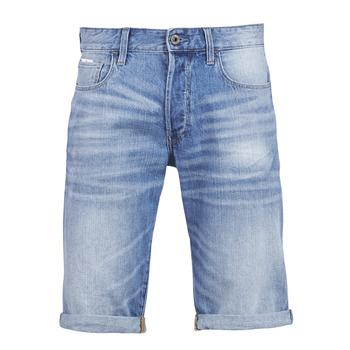 Textil Muži Kraťasy / Bermudy G-Star Raw 3302 12 Modrá / Světlá / Sepraná