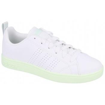 Boty Ženy Multifunkční sportovní obuv adidas Originals VS ADVANTAGE CL W FTWR   AERO GREEN S18 bílá