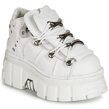 New Rock Kotníkové boty ROCKY - Bílá f7cecf06c8