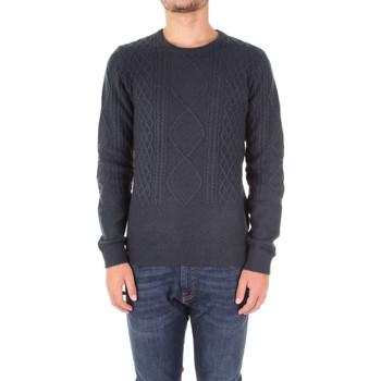 Textil Muži Svetry Fred Mello FM17W54MG Modrá