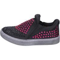 Boty Dívčí Street boty Lulu Nazouvat Boty BT332 Černá
