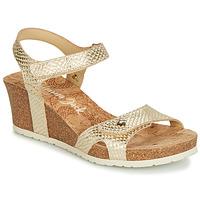 Boty Ženy Sandály Panama Jack JULIA Zlatá
