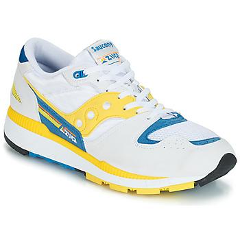 Boty Muži Nízké tenisky Saucony Azura Bílá / Žlutá / Modrá