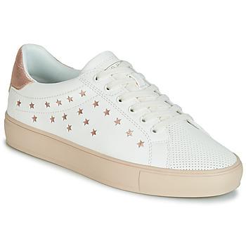 Boty Ženy Nízké tenisky Esprit Colette Star LU Bílá / Růžová / Zlatá