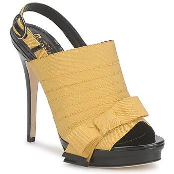 Boty Ženy Sandály Jerome C. Rousseau ROXY Žlutá / Černá