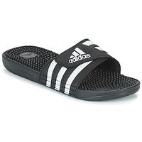 Boty pantofle adidas Originals ADISSAGE Černá / Bílá