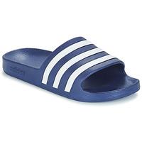 Boty pantofle adidas Performance ADILETTE AQUA Modrá
