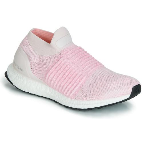 Boty Ženy Běžecké / Krosové boty adidas Performance ULTRABOOST LACELESS Růžová