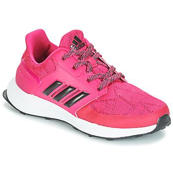 Boty Dívčí Běžecké / Krosové boty adidas Originals RAPIDARUN K Růžová