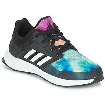 Boty Dívčí Běžecké / Krosové boty adidas Performance RAPIDARUN X K Černá