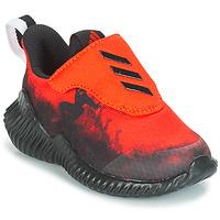 Boty Chlapecké Běžecké / Krosové boty adidas Performance FORTARUN SPIDER-MAN Červená / Černá