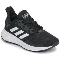 Boty Děti Běžecké / Krosové boty adidas Performance DURAMO 9 K Černá / Bílá
