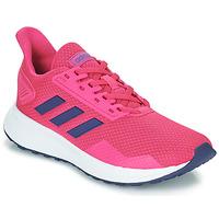 Boty Dívčí Běžecké / Krosové boty adidas Performance DURAMO 9 K Růžová
