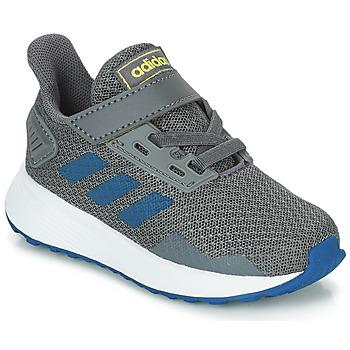 Boty Chlapecké Běžecké / Krosové boty adidas Performance DURAMO 9 I Šedá