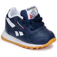 Boty Chlapecké Nízké tenisky Reebok Classic CLASSIC LEATHER Modrá / Bílá