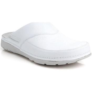 Boty Muži Pantofle Batz Pánske biele zdravotné šľapky PETER biela