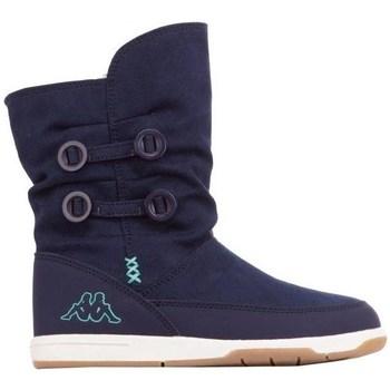 Boty Děti Zimní boty Kappa Cream T Tmavomodré