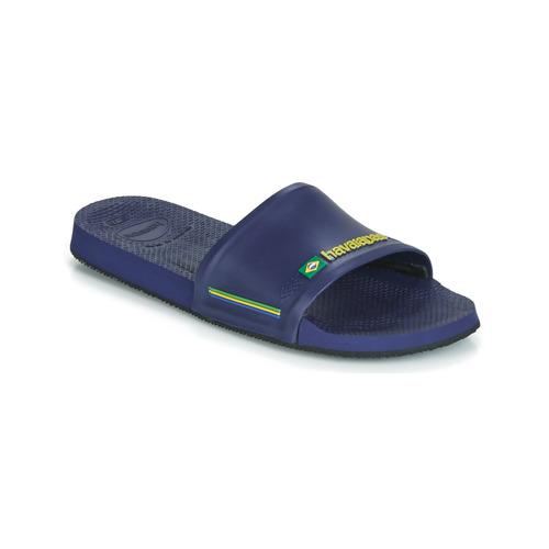 Boty Muži pantofle Havaianas SLIDE BRASIL Modrá