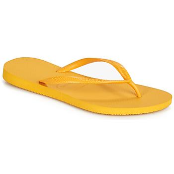 Boty Ženy Žabky Havaianas SLIM Žlutá