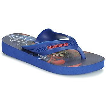Boty Chlapecké Žabky Havaianas KIDS MAX HEROIS Modrá