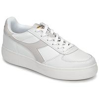 Boty Ženy Nízké tenisky Diadora B ELITE WIDE Bílá / Šedobéžová