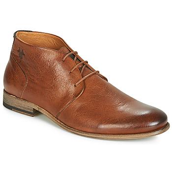 Boty Muži Kotníkové boty Kost SARRE 1 Zlatohnědá
