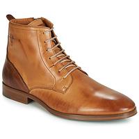 Boty Muži Kotníkové boty Kost NICHE 39 Zlatohnědá