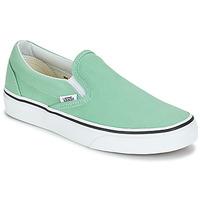 Boty Ženy Street boty Vans CLASSIC SLIP-ON Zelená