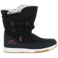 Boty Děti Zimní boty Kappa Cream Černé