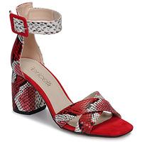 Boty Ženy Sandály Fericelli JEZI Červená