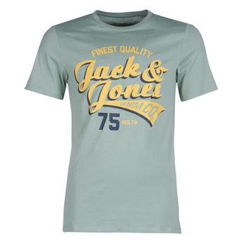Textil Muži Trička s krátkým rukávem Jack & Jones JJELOGO Zelená