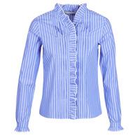 Textil Ženy Košile / Halenky Maison Scotch LONG SLEEVES SHIRT Modrá / Světlá