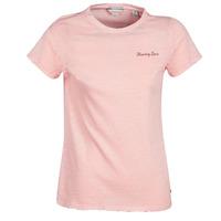 Textil Ženy Trička s krátkým rukávem Maison Scotch SS T-SHIRT Růžová