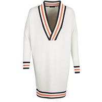 Textil Ženy Svetry Maison Scotch WHITE LONG SLEEVES Bílá / Krémová
