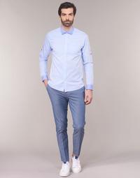 Textil Muži Mrkváče Scotch & Soda RALSTONO Modrá