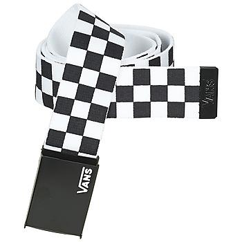 Textilní doplňky Pásky Vans LONG DEPSTER WEB BELT Černá / Bílá