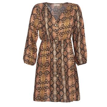 Textil Ženy Krátké šaty Moony Mood KOUJUK Vícebarevná