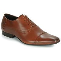 Boty Muži Šněrovací společenská obuv Carlington ETIPIQ Zlatohnědá