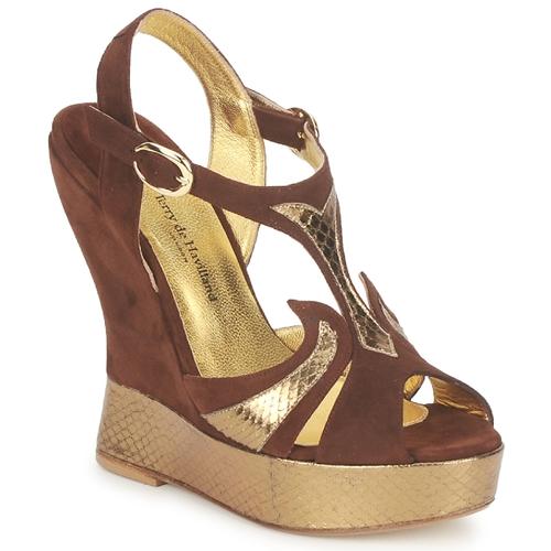 Boty Ženy Sandály Terry de Havilland FARAH Čokoládová