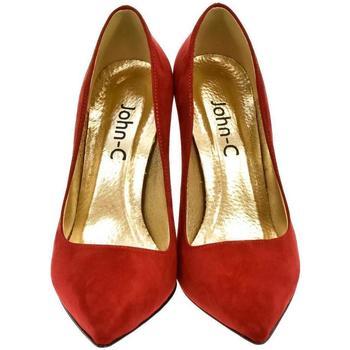 Boty Ženy Lodičky Paula Dámske červené lodičky SILI červená