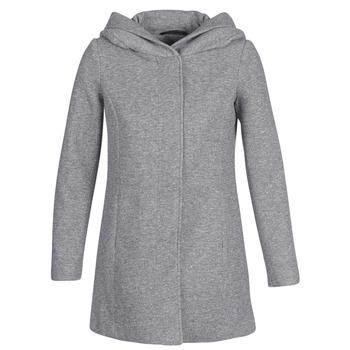 Textil Ženy Kabáty Vero Moda VMVERODONA Šedá