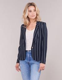 Textil Ženy Saka / Blejzry Vero Moda VMANNA Bílá / Tmavě modrá