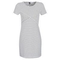 Textil Ženy Krátké šaty Vero Moda VMVIGGA Bílá / Černá